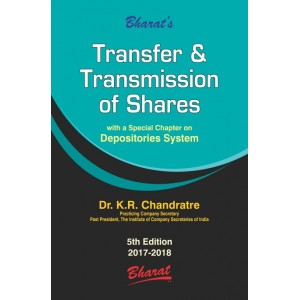 Bharat's Transfer & Transmission of Shares [HB] by Dr. K. R. Chandratre